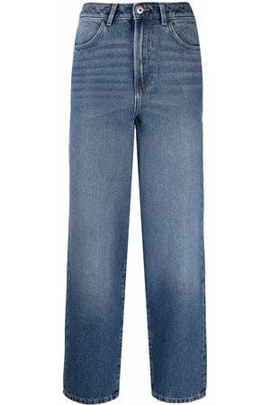 Les Coyotes de Paris Cropped straight-leg jeans