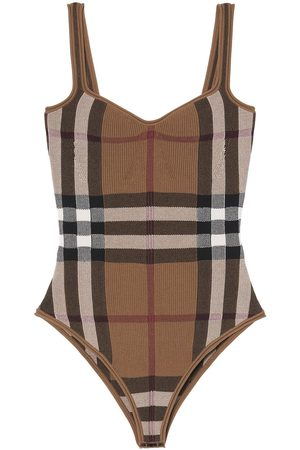 Burberry Vintage Check knitted bodysuit