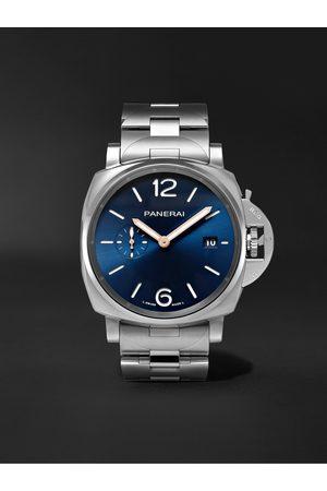 PANERAI Heren Horloges - Luminor Due Automatic 42mm Stainless Steel Watch, Ref. No. PAM01124
