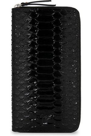 Giuseppe Zanotti Samuel crocodile-effect wallet