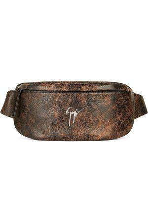 Giuseppe Zanotti Heren Riemen - Mirto leather belt bag
