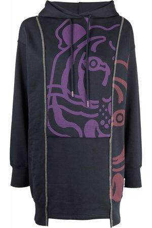 Kenzo Dames Pullovers - Graphic-print pullover hoodie