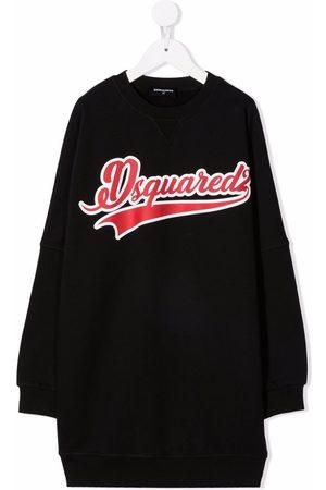 Dsquared2 Meisjes Casual jurken - Logo knit dress