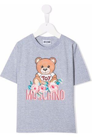 Moschino Meisjes T-shirts - Teddy bear-print short-sleeved T-shirt
