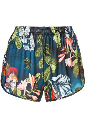 Lygia & Nanny Silk shorts with lace details