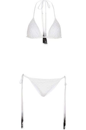 Missoni Dames Halter bikini's - Knitted halter bikini