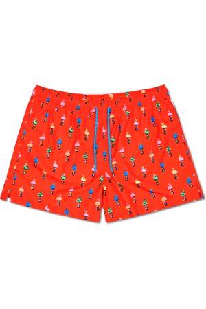 Happy Socks Zwembroeken - Flamingo Swimshorts