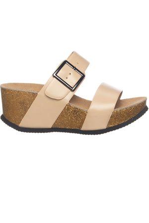 Trend One Slippers met sleehak