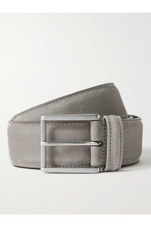 Anderson's Heren Riemen - 4cm Suede Belt