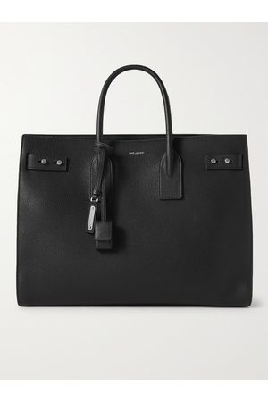 Saint Laurent Heren Shoppers - Sac de Jour Large Full-Grain Leather Tote Bag