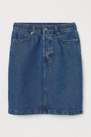 H&M Jeansrok - High waist