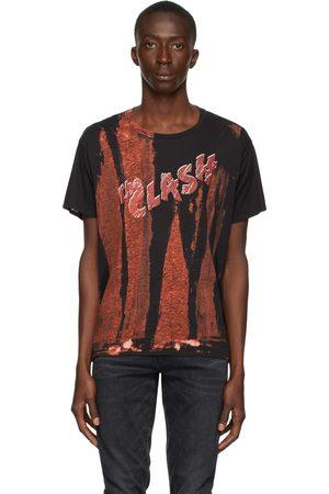 R13 Heren T-shirts - Black & Red 'The Clash' Boy T-Shirt