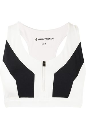 Perfect Moment Vale rainbow fitness top