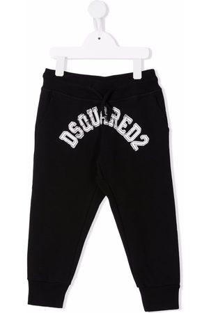 Dsquared2 Logo-print drawstring-waist track trousers
