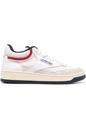 Autry Side logo-patch sneakers