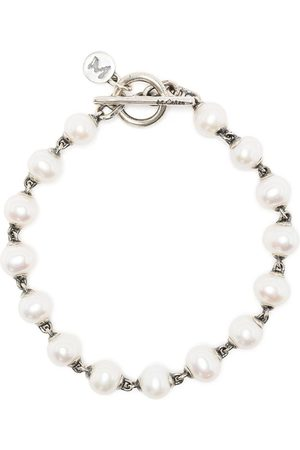 M. COHEN Pearl-embellished chain bracelet