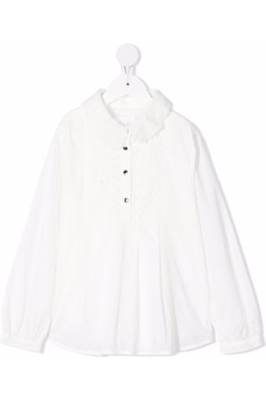Chloé Embroidered cotton blouse
