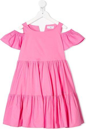 MONNALISA Tiered short dress