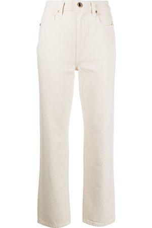 Khaite The Abigail straight-leg jeans
