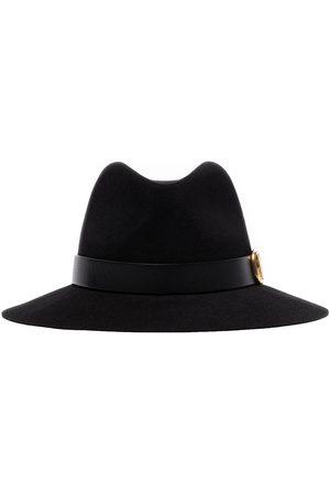 VALENTINO V-ring fedora hat