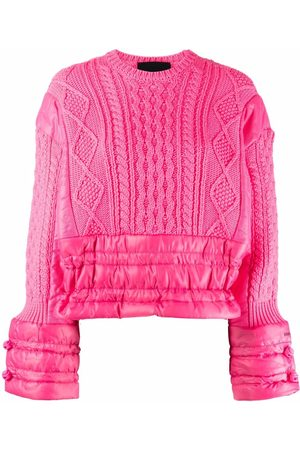 RED Valentino Panelled padded jumper