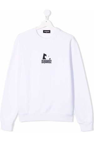 Dsquared2 TEEN logo-printed sweatshirt