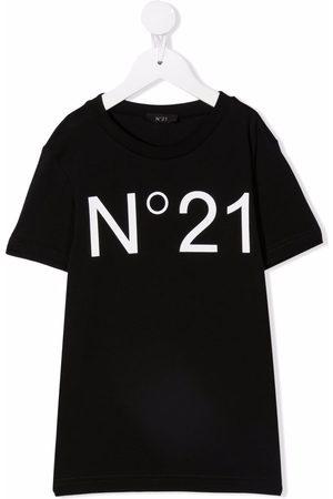 Nº21 Logo-print short-sleeve T-shirt