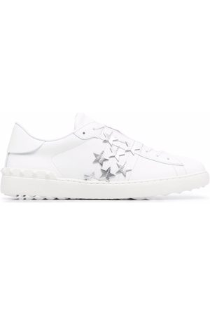VALENTINO GARAVANI Star-embellished Open sneakers