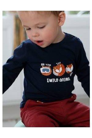 Vertbaudet T-shirt met speelse motieven jongensbaby lange mouwen inkt