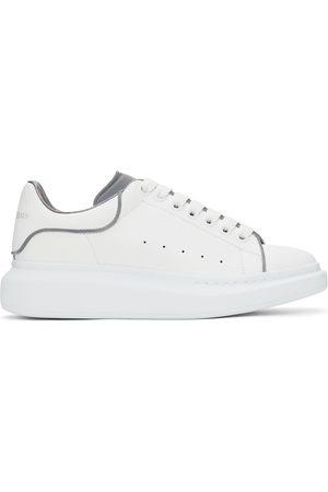 Alexander McQueen SSENSE Exclusive White Reflective Oversized Sneakers