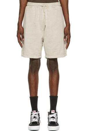 Ksubi Heren Shorts - Beige Lo-Fi Track Shorts