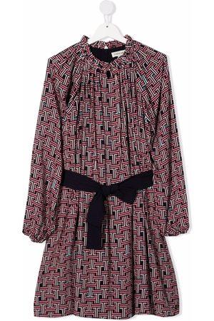 Lanvin TEEN geometric-print dress