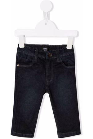 HUGO BOSS Jongens Skinny - Dark-wash skinny jeans