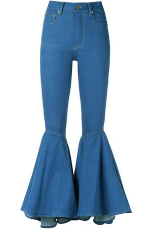AMAPÔ Dames Bootcut - Flared jeans