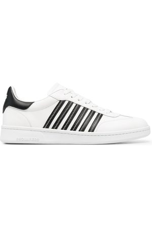 Dsquared2 Jagged stripe sneakers