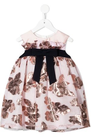 HUCKLEBONES LONDON Floral-appliqué mini dress
