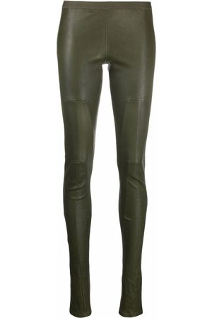 Rick Owens Low-rise skinny leather trousers