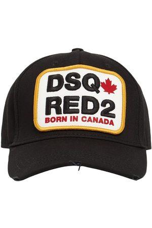 Dsquared2 Heren Petten - Logo Patch Cotton Gabardine Cap