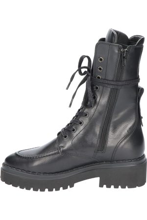 Nubikk Dames Bikerboots - Fae Aubine 21040800 10L Black Biker boots
