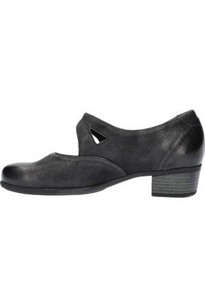 Durea Dames Hakken - 5679 035H Zwart H-Wijdte Klittenbandschoenen