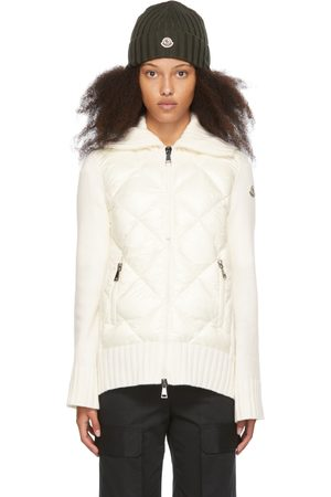 Moncler Off-White Down Diamond Quilted Jacket