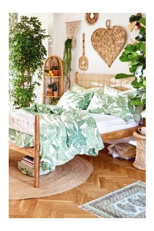 Urban Outfitters Raine Duvet Cover Set With Reusable Fabric Bag