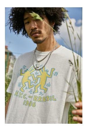 Urban Outfitters Archive © Keith Haring Foundation White Garage T-Shirt