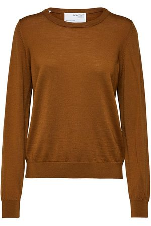SELECTED Truien Magda Wool Long Sleeve Knit O Neck S