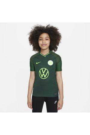 Nike VfL Wolfsburg 2021/22 Stadium Uit Voetbalshirt voor kids