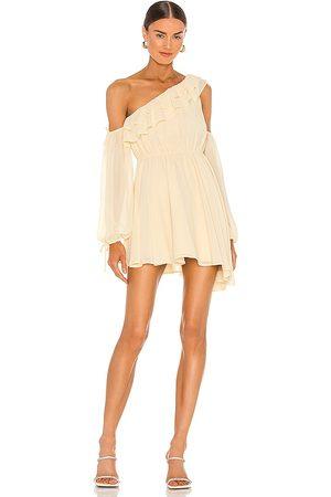 Michael Costello Dames Asymmetrische jurken - X REVOLVE Everett Mini Dress in