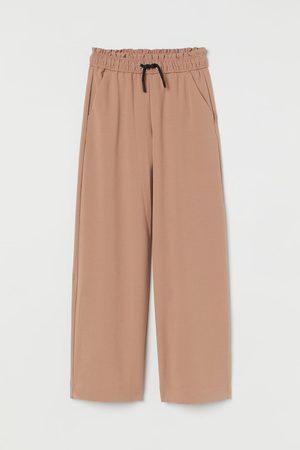 H&M Meisjes Wijde broeken - Wijde pull-on broek