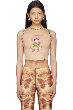 OMIGHTY SSENSE Exclusive Print Cowgirl Baby Tank Top