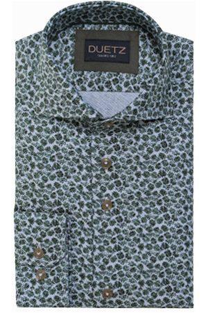 Duetz1857 Heren Overhemden - Duetz 1857 dress overhemd print