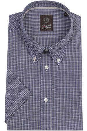 Eagle & Brown Heren Overhemden - Casual overhemd korte mouw